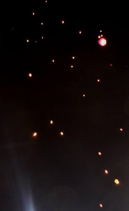 le lanterne volanti