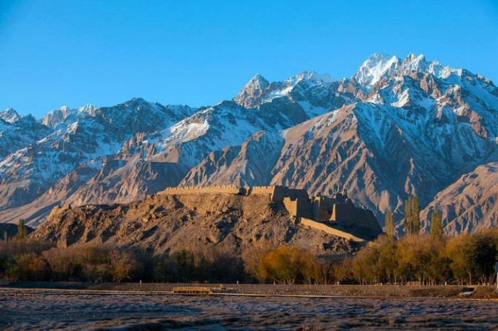 montagne in Cina