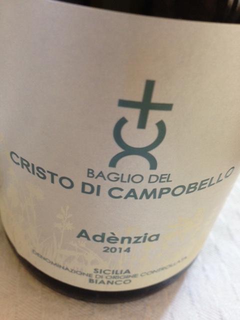 Adenzia 2014 di Baglio del Cristo di Campobello