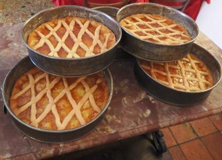 Antica Osteria di Via Brandolini, crostate alla frutta