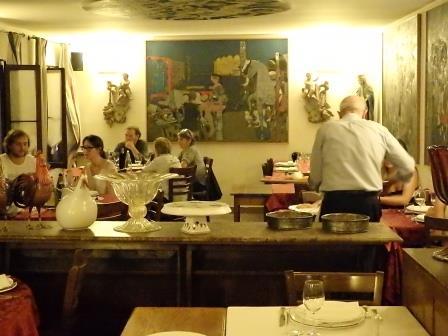 Antica Osteria di Via Brandolini, l'interno