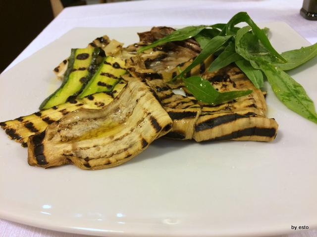 Braceria Bifulco. Le verdure grigliate