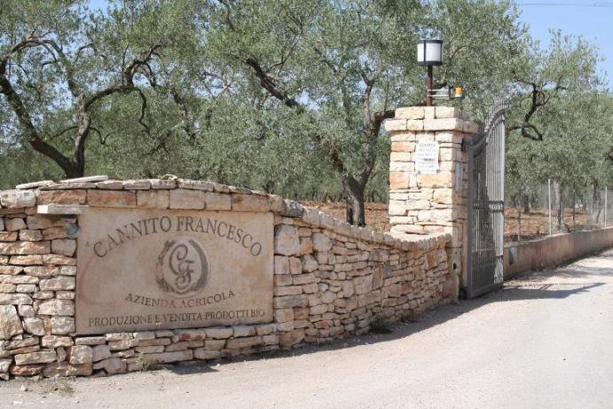 Cannito, l'ingresso