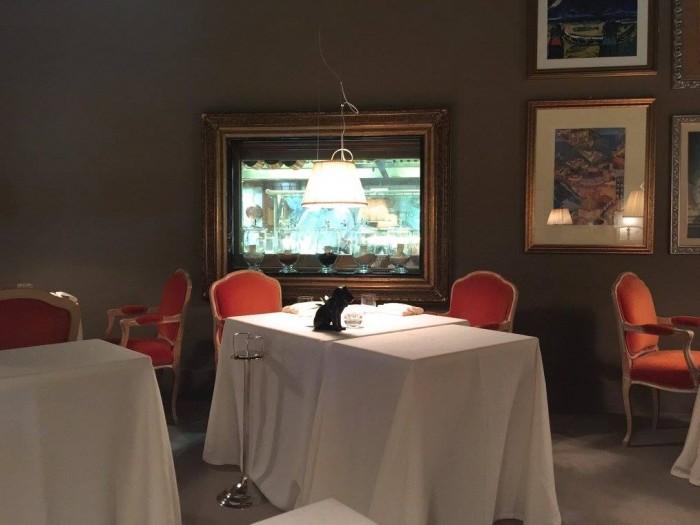 Casa Vissani, Il tavolo preferito di un noto giornalista e gourmet di Roma