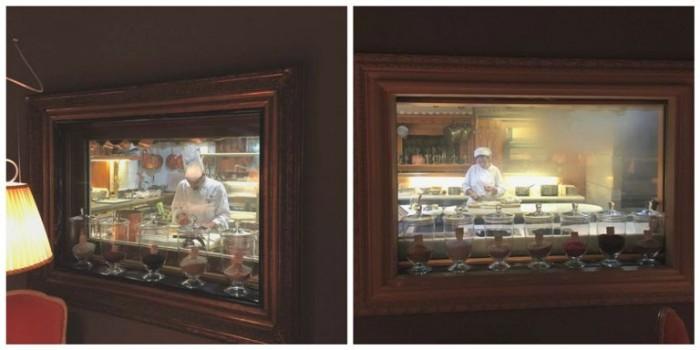 Casa Vissani, quadri con vista cucina