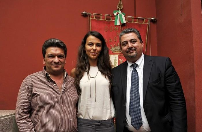 Ciro Moccia, Aurora Casillo e Giuseppe di Martino - foto di Gianni Cesariello