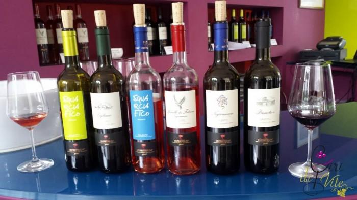 Cupertinum, i vini base
