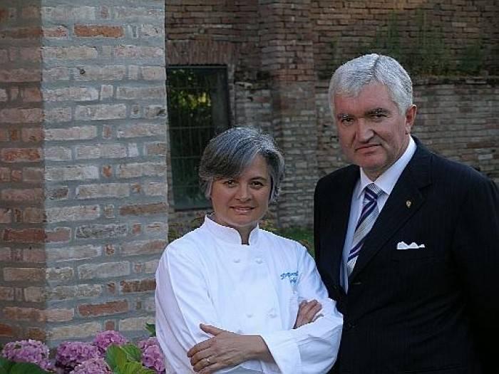 Dal Pescatore, Nadia e Antonio Santini