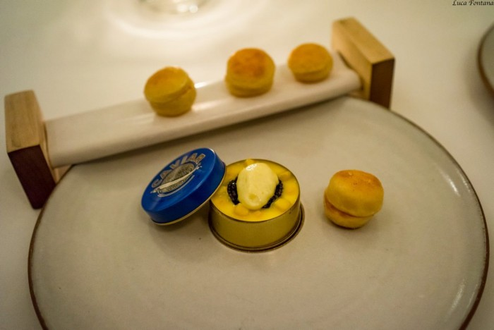 Eleven Madison Park, caviale