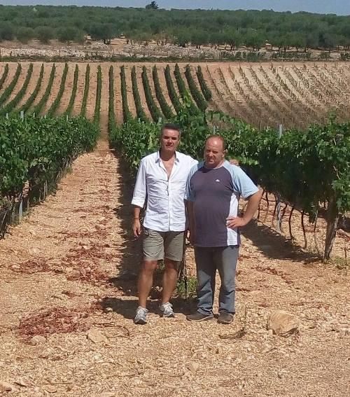 Francesco Cannito con Andrea De Palma