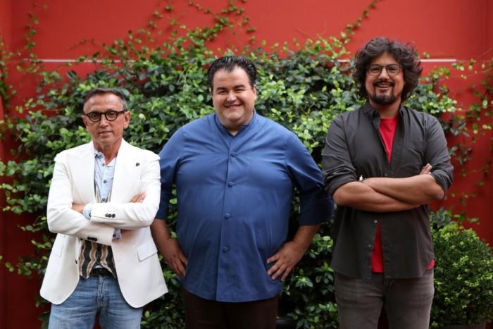 Gennaro Esposito, Alessandro Borghese e Bruno Barbieri