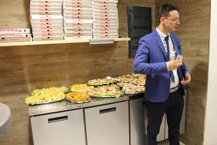Il Corallo Street Food, il buffet