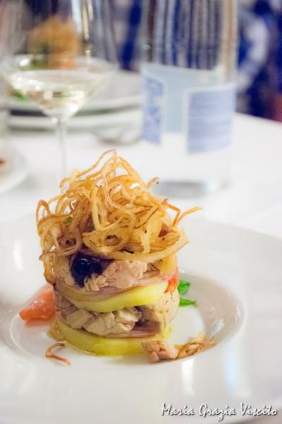 Il Ghiottone, insalata di tonno e cipolla di tropea