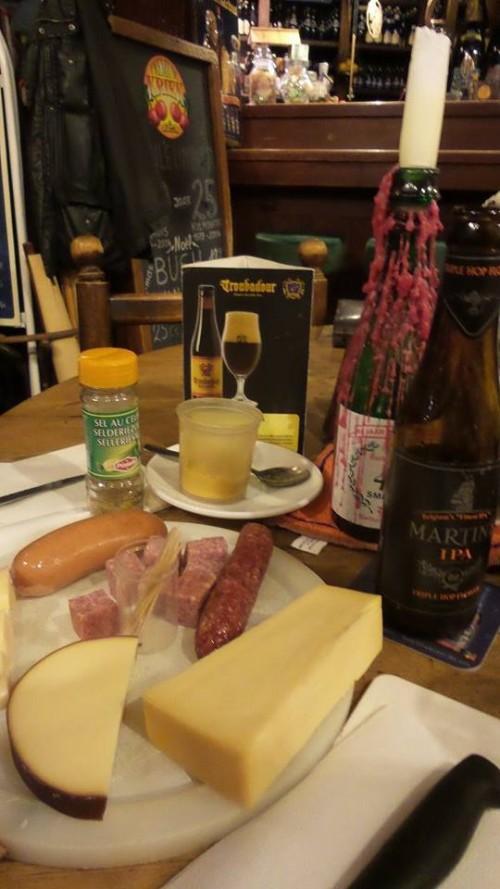 Kulminator, formaggi e salumi