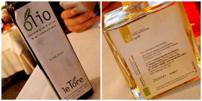 Lo Stuzzichino, olio extravergine di oliva biologico Le Tore e San Salvatore