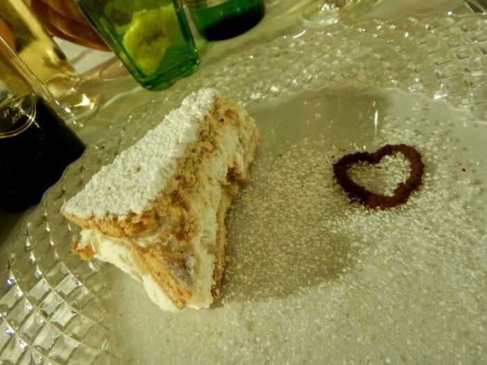 Lo Stuzzichino, torta ricotta e pere