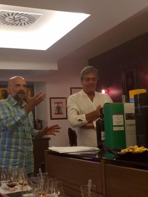 Luca Gargano al Whisky&Co di Roma