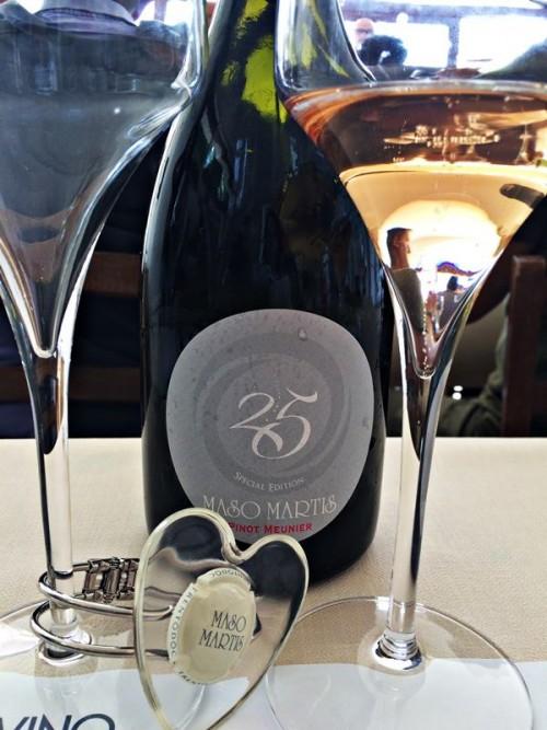 Maso Martis, la bottiglia per celebrare i 25 anni