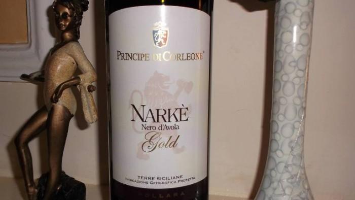 Narkè Nero d'Avola Gold Terre Siciliane Igp 2014 Principe di Corleone