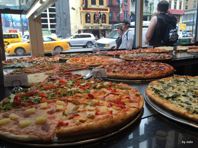 New York Pizza a Times Square
