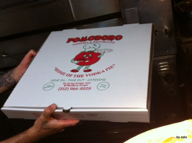 New York  Pomodoro a  Little Italy