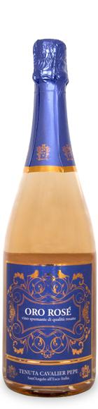 Oro Rosè di Tenuta Cavalier Pepe