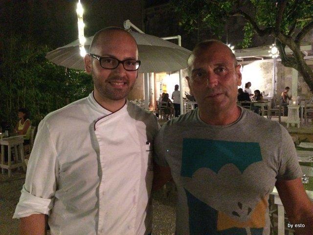 Osteria Origano Vito Gaballo con Gaetano Marangelli