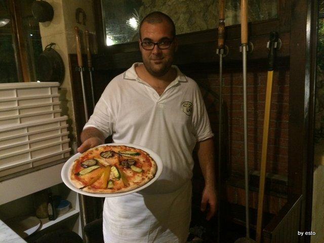 Osteria del Pozzo Vecchio La pizza leccese di Giuseppe Rollo