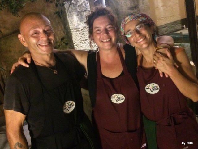 Osteria del Pozzo Vecchio Roberto Fellico, Serena e Simona De Carlo