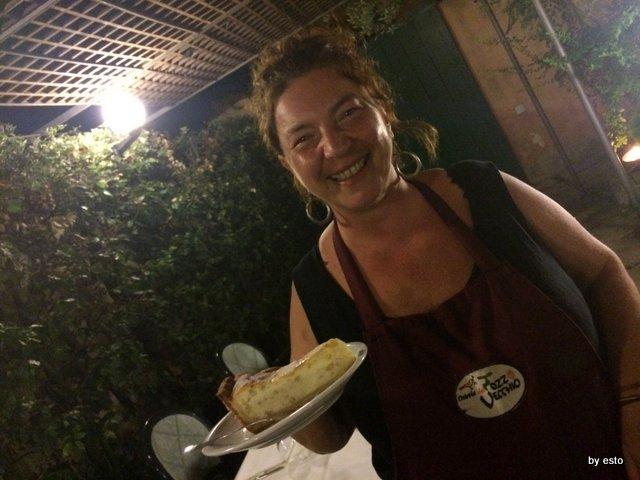 Osteria del Pozzo Vecchio la pastiera di Serena De Carlo