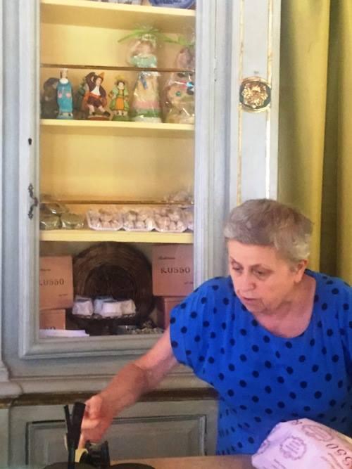 Pasticceria Russo, la signora Russo