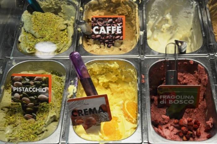 Pasticceria Russo, specialità, gelati