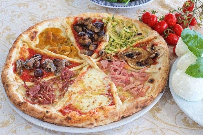 Pizzeria Ciro dal 1923, Otto gusti