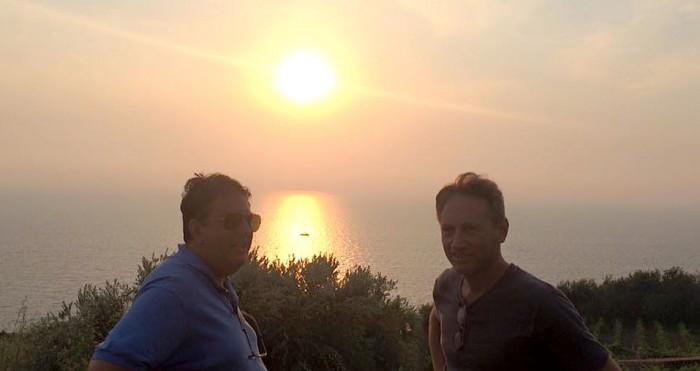 Punta Tresino, con Mario Corrado