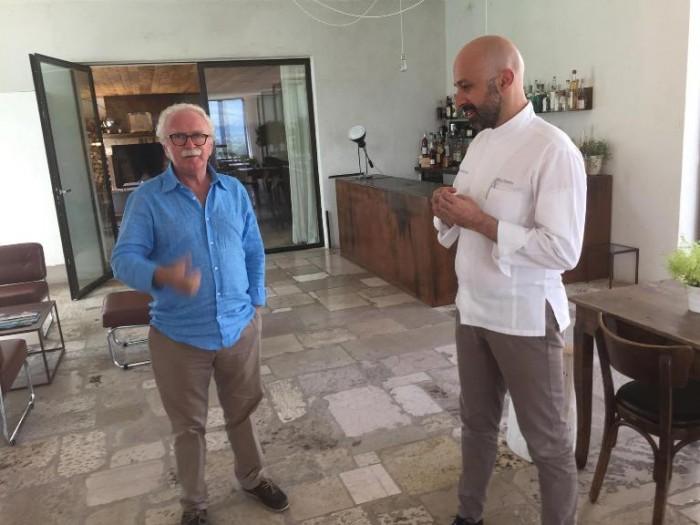 Reale Casadonna, Niko Romito con Guido Barendson