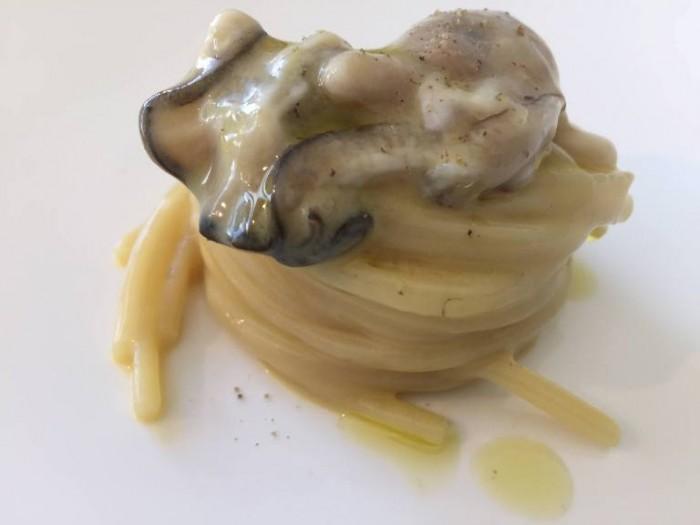 Reale Casadonna Niko Romito, linguina fredda, ostriche patate