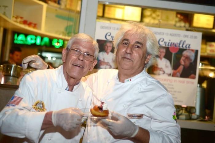 Sabatino Sirica con Enzo Crivella a Sapri
