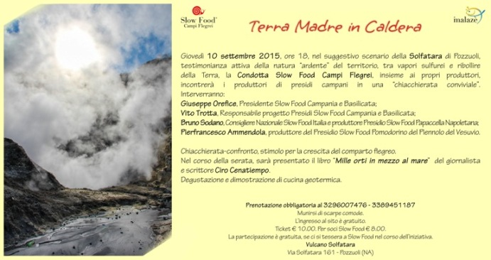 Terra Madre in Caldera