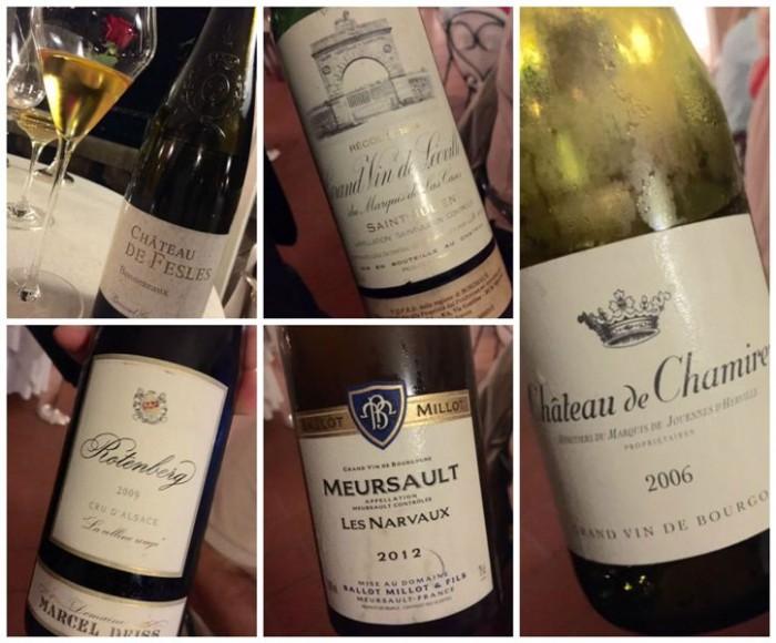 Terrazza Bosquet, i vini