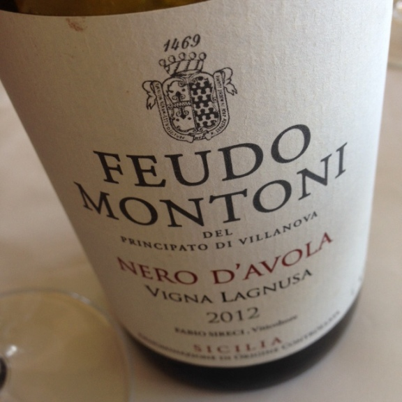 Vigna Lagnusa Nero d'Avola 2012 Feudo Montoni