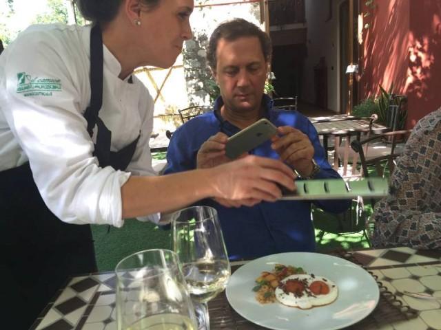 Villa Chiara Orto e Cucina, il brunch di Maurizio Cortese