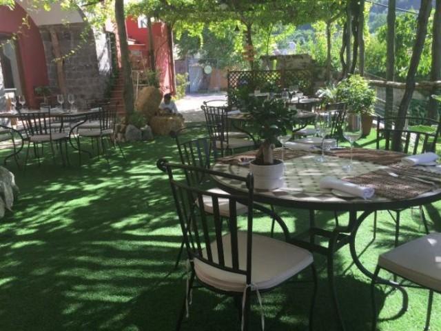 Villa Chiara Orto e Cucina, il giardino esterno