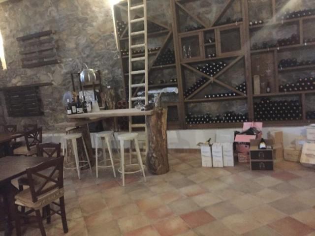 Villa Chiara Orto e Cucina, la cantina