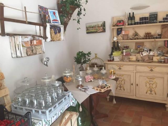 Villa Chiara Orto e Cucina, lo shop