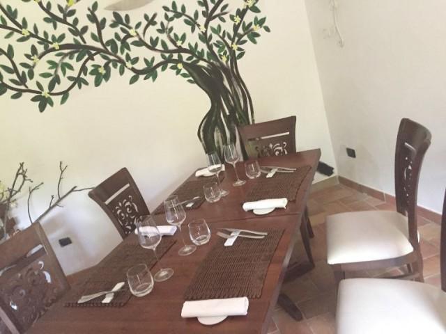 Villa Chiara Orto e Cucina, una saletta interna