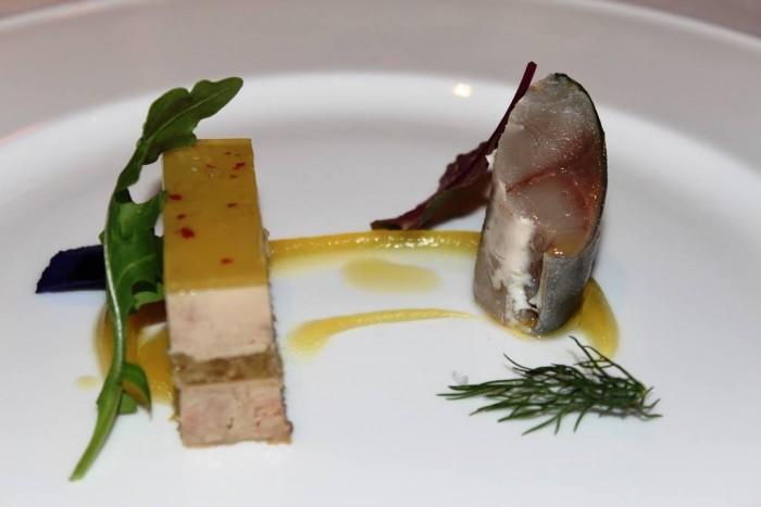 Villa Crespi, terrina di foie gras ananas e sgombro