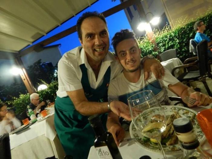 Lo Stuzzichino, da sx, Mimmo De Gregorio e Mirko Balzano