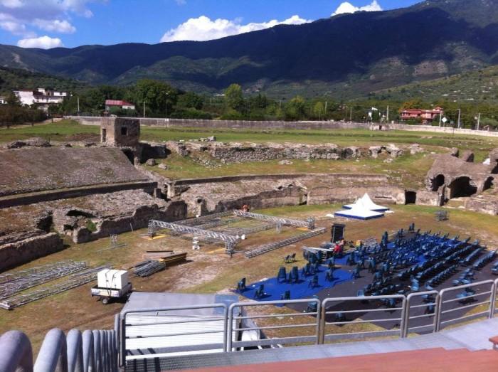 l'anfiteatro di Avella
