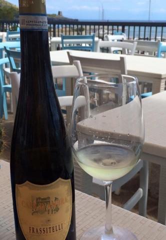 Taverna del Mozzo, dal tavolo sulla terrazza panoramica