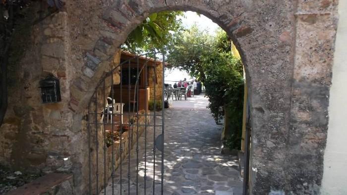 Agriturismo San Carlo, ingresso